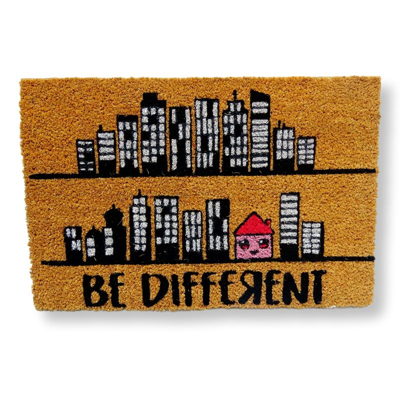Felpudo coco Be Different, Felpudos originales Koko Doormats